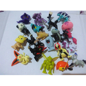 20 Miniaturas Pokémon Medias 3-5cm