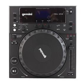 Reproductor De Mesa Mixer Profesional Dj Gemini Cdj250