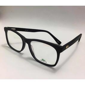 e6c9ba4d35156 Óculos Armações Para Por Grau Masculino Lacoste Promoção