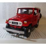 Jeep Toyota Land Cruiser Escala 1/24 Coleccion Envio Gratis
