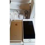 Iphone 6 16g Dorado Accesorios Orig Sin. Caja