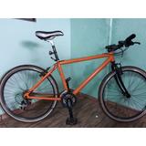 Bicicleta De Aluminio Aro 26 Kit Alivio