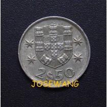 2 -1/2 Escudos. Moneda De Portugesa Del Año 1978