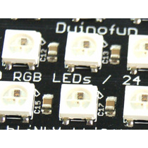 Matriz De Leds Rgb Shield Neopixel Compatible Arduino