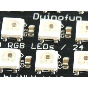 Matriz De Leds Rgb Shield Neopixel Compatible Arduino