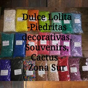 Piedras, Piedritas Decorativas Colores Cactus Suculentas 1kg