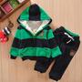 Agasalho Conjunto Infantil Calça E Blusa Moletom Acolchoado