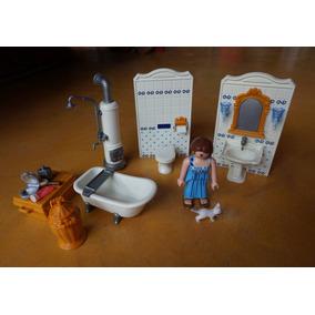 Kit Banheiro Do Castelo Playmobil