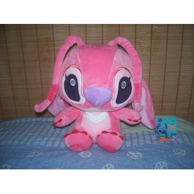 Peluche Novia De Stitch Angel Cute Kawaii Detallado 23 Cm