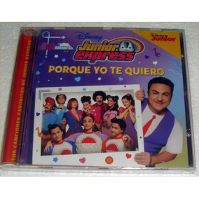 Junior Express Porque Yo Te Quiero Topa Disney Jr Cd Sellado