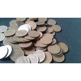 Lote Cien Monedas De Cobre Un Peso ($1)