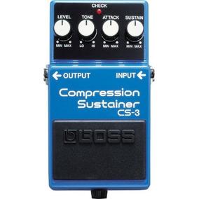 Pedal Para Guitarra Boss Cs-3 Compressor Sustainer