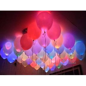 30 Mini Led Bexiga Lampada Festa Balão Decoração Casamento