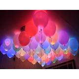 30 Mini Led P Bexiga Lampada Festa Balão Decoração Casamento