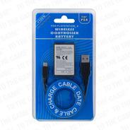 Bateria Alto Rendimiento Joystick Ps4 V1 Con Cable Cargador