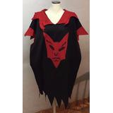 Disfraz Tunica De Halloween De Diablo Talla Xl