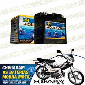 Bateria Moura Moto 3ah Shineray Super Smart 50cc