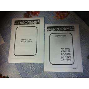 Ferrorama Estrela Manual Principal E Linha Xp1100 A Xp1500