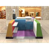 Quiosque Para Shopping - Ajuste Para 6 Ou 8 Metros