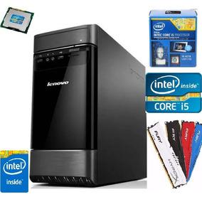 Cpu Gamer Desktop Lenovo Core I5 4 Geração 8gb Ddr 3 Hd 500g
