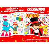 Circo Mágico Revistas De Colorir Lembrança Festa Aniversario