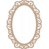 2 Molduras Para Espelho Estillo Provençal Mdf 3mm 60x40