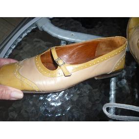Zapatos Guillermina Cuero Excelentes!!!! N 39