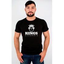 Camiseta - Kings Sneakers - Estampa - Personalizada - Top