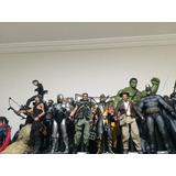 Coleção Hot Toys Lote 5 Bonecos A Escolha E Tbm Vendo A Unid