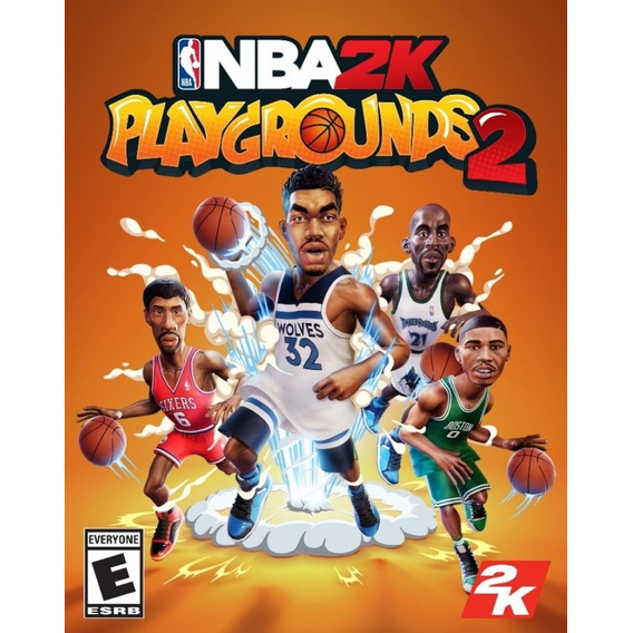Nba 2k Playgrounds 2 Xbox One Juego Original Fisico Sellado