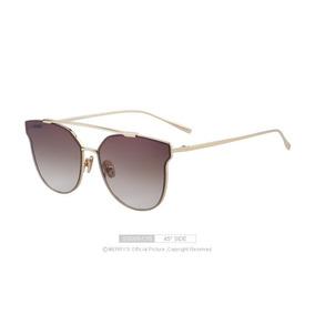 Óculos Espelhado Feminino Olho De Gato Gatinho Marry´s S8089 6bd5ca7970