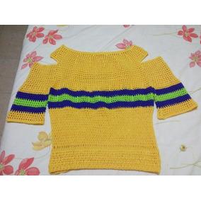Sueter Talla S Tejido A Mano A Crochet