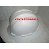 Casco De Proteccion Industrial Color Blanco Arseg Negociable