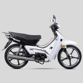Motocicleta Semiautomática Kurazai Galaxy Blanca 110 Cc