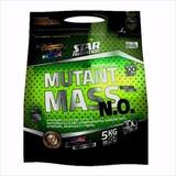 Mutant Mass 5kg Star Nutrition + Dieta Y Rutina