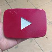 Play Youtube Para Placa Personalizada - Impressão 3d