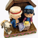 Nacimiento Navideño Snoopy Peanuts Charli Brown Envio+ Meses