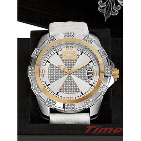 9096c289707 Relógio Ecko Unltd The Fortune E16572g1  swarovski Element