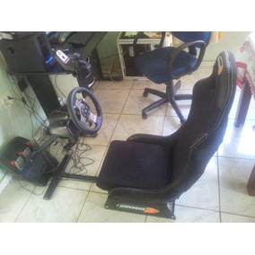 Cockpit Playseat + Volante Logitech G27