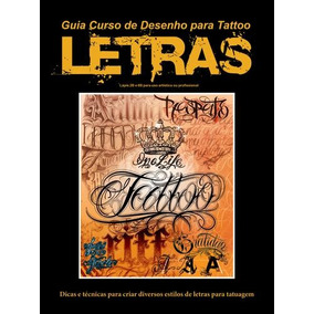 Guia Curso De Desenho Para Tatoo - Letras