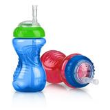 Vaso Para Bebé Con Boquilla De Silicona Nuby