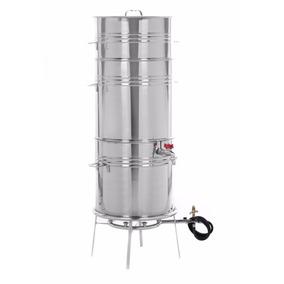 Suqueira Máquina Panela 18kg Extrair Fazer Suco - Aço Inox