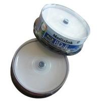 Disco Blu Ray Imprimible 25g Con Caja Azul 11mm