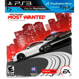 Need For Speed Most Wanted Ps3 Digital Entrega Inmediata