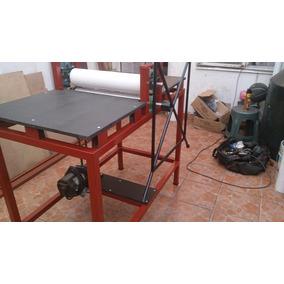 Suajadora De Rodillos Electrica De 80 Cms Ancho