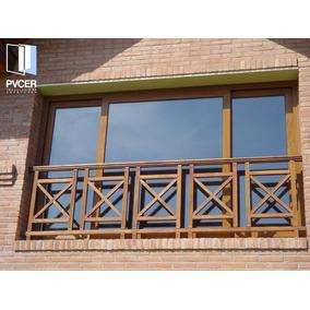 Aberturas pvc simil madera dvh aberturas ventanas en for Aberturas pvc simil madera precios