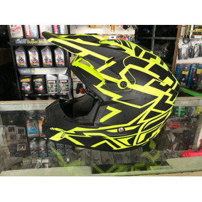 Capacete Fly Kinect N60 Fluorescente Motocross