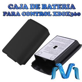 Tapa Caja Porta Batería Pilas Control Xbox 360