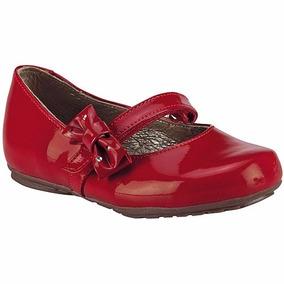 Zapatos Coqueta Piel 32106k Rojo Niña Pv