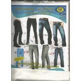 Patrones Soryfec Jeans Caballeros